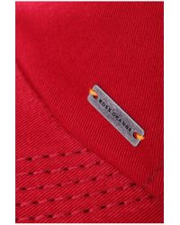 BOSS Orange - Red Cotton Baseball Cap 'forcano-12' for Men - Lyst