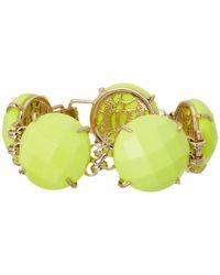 Kendra Scott | Green Cassie Bracelet | Lyst