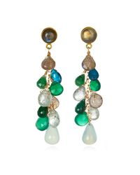 Wendy Mink | Multicolor Multi-stone Drop Earrings | Lyst