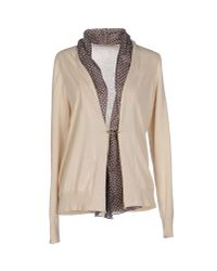 Fabiana Filippi | Natural Cardigan | Lyst