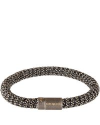 Carolina Bucci - Black And Silver Twister Bracelet - Lyst