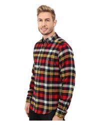Woolrich | Blue Trout Run Flannel Shirt Modern Fit for Men | Lyst