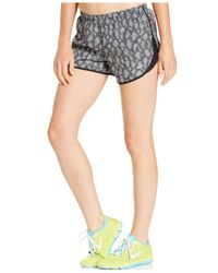 Nike | Black Modern Tempo Dri-fit Print Running Shorts | Lyst
