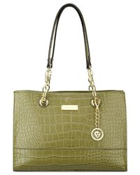 Anne Klein | Green Coast Is Clear Small Chain Tote | Lyst