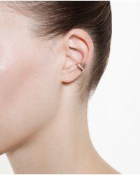 Maria Black - Pink Rose Gold Siren Ear Cuff - Lyst