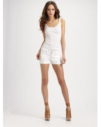 Vince - White Luce Shorts - Lyst