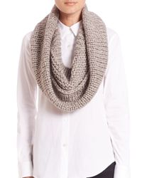 Stella McCartney - Gray Softly Clean Knit Snood - Lyst