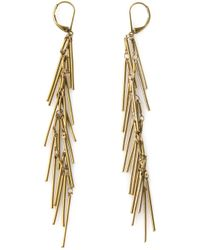 Isabel Marant | Metallic Fringe Earrings | Lyst