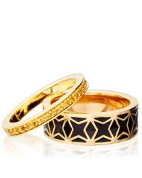 Astley Clarke - Metallic Citrine Infinity Ring - Lyst