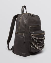 Ash - Black Backpack - Domino Chain - Lyst