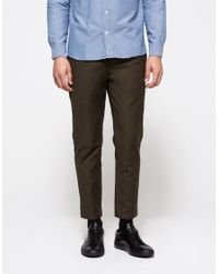 Obey | Natural Latenight Sateen Pant for Men | Lyst