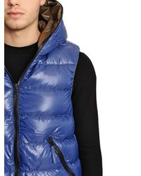 Duvetica | Blue Aristeo Nylon Vest Down Jacket for Men | Lyst