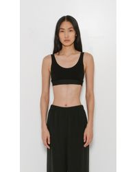 Land Of Women | Black Sport Bra | Lyst