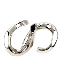 Annelise Michelson | Metallic 'déchainée' Double Ring | Lyst