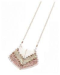Nakamol | Multicolor Magdalene Pendant Necklace-lavender | Lyst