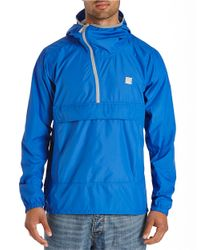 Bench | Blue Asymmetrical Half-zip Pullover for Men | Lyst