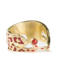 Marc Alary - Metallic Panther Ring - Lyst