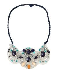 Pinko | Blue Necklace | Lyst