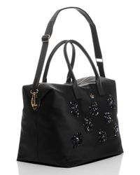 kate spade new york - Black Classic Nylon Jewels Lyla - Lyst