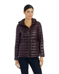DKNY - Red Packable Jacket - Lyst