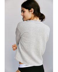 Calvin Klein | Gray For Uo Modern Sweatshirt | Lyst