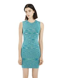 Torn By Ronny Kobo | Blue Lana Optical Dress | Lyst