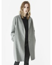 McQ | Gray Coat | Lyst