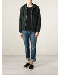 Dolce & Gabbana - Green Zip Hoodie for Men - Lyst