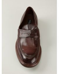 Dolce & Gabbana - Brown Classic Loafers for Men - Lyst
