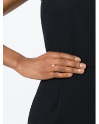 Vita Fede | Metallic Pearl Detail Open Ring | Lyst