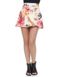 Cameo - Multicolor Stepping Stone Skirt - Lyst