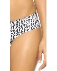 Calvin Klein | Black Invisibles Printed Hipster - Introspective Skin Print | Lyst