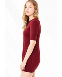 Silence + Noise - Red Perry A-line Tee Dress - Lyst
