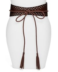 Steven by Steve Madden | Brown Obi Belt | Lyst