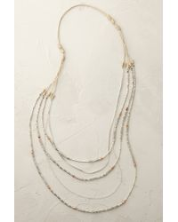 Anthropologie | Blue Khymeia Layered Necklace | Lyst
