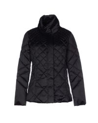 Romeo Gigli - Black Hooded Quilted Jacket  - Lyst