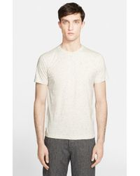 Norse Projects - Natural 'niels' Cotton & Silk Boucle T-shirt for Men - Lyst