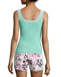 Cosabella - Blue Sleeveless Dream Lounge Camisole - Lyst