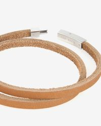 Ted Baker | Brown Flat Leather Bracelet for Men | Lyst