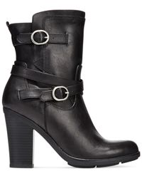Style & Co. | Black Style&co. Ameliya Mid-shaft Booties | Lyst