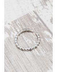 Forever 21 | Metallic Shashi Pebble Midi Ring | Lyst