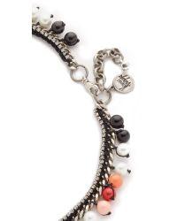 Venessa Arizaga | Blue Treasure Island Necklace | Lyst