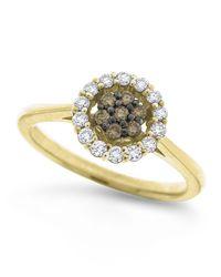 KC Designs - Metallic 14K Champagne Diamond Ring - Lyst