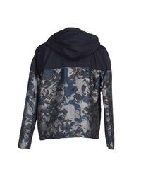KENZO - Blue Jacket for Men - Lyst