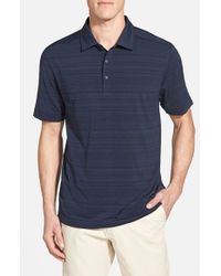 Cutter & Buck | Blue 'Highland Park' Drytec Golf Polo for Men | Lyst