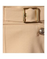 Chloé | Natural Wool Shorts | Lyst
