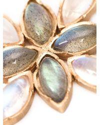 Irene Neuwirth | Metallic 18kt Rose Gold And Labradorite Pendant | Lyst
