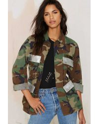 Nasty Gal | Multicolor After Party Vintage Troop Nasty Army Jacket | Lyst