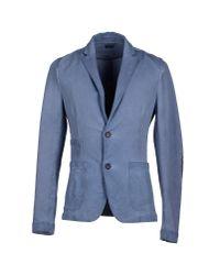 Paolo Pecora | Blue Blazer for Men | Lyst