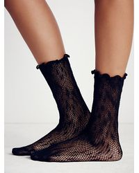 Free People | Black Chasing Stars Anklet | Lyst